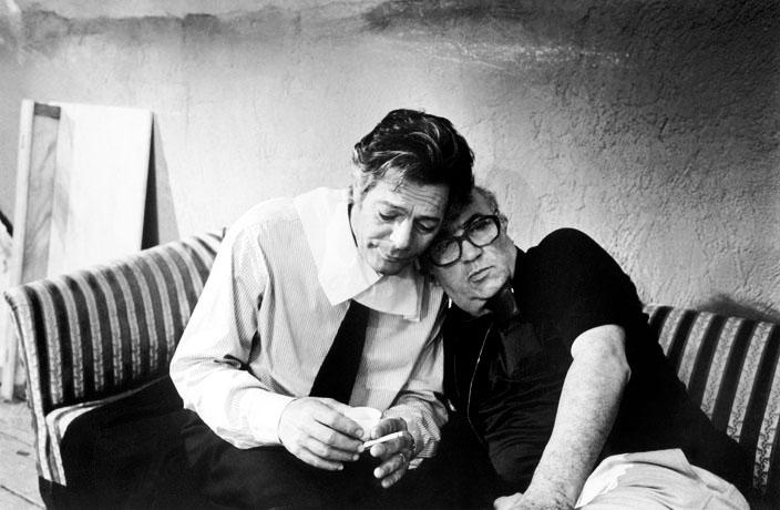 Marcello Mastroianni Federico Fellini