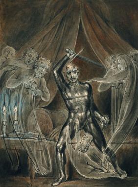 william blake - richard III and the Ghosts